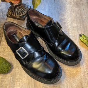 Men's Black Sz 10 Kenneth Cole Dress Shoes
